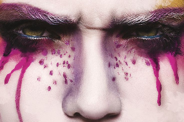 Painterly Beauty Photography - Glassbook Magazine's Watercolour Exclusive is Colorfully Captivating (GALLERY)