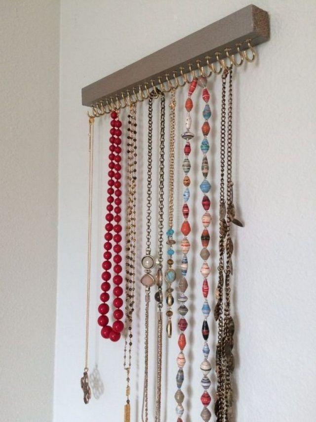 30 Creative The Most Fancy Hanger Ideas For Your Jewelry Storage Jewellery Storage Jewelry Holder Creative Jewelry