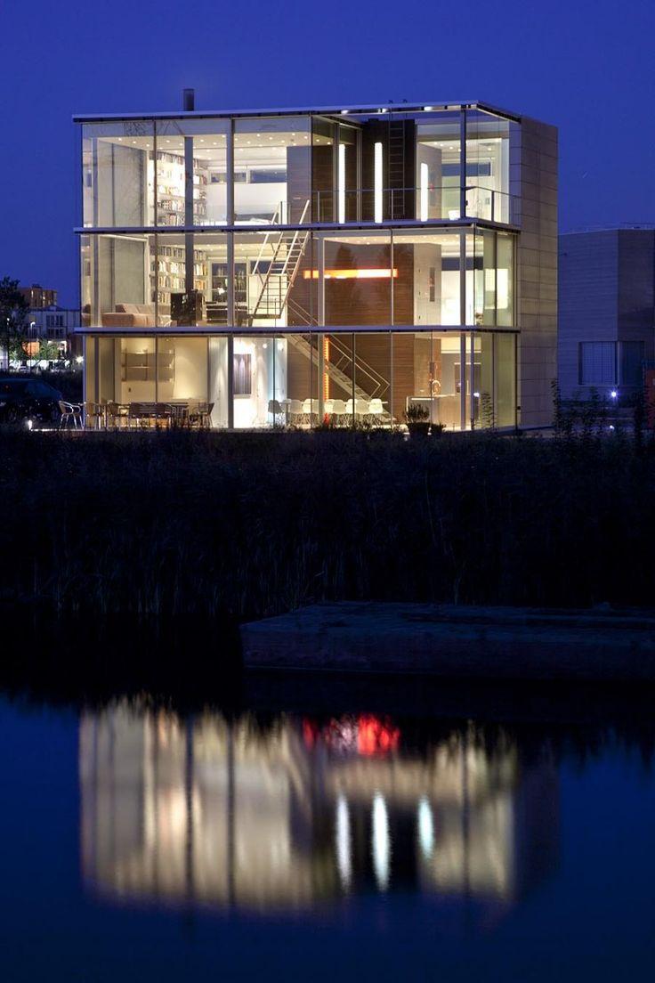 Rieteiland house by hans van heeswijk architecten extraordinairel architecture