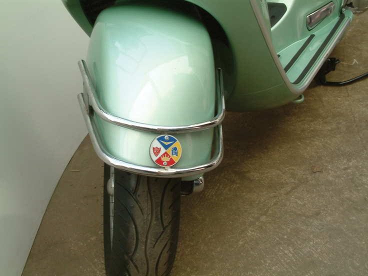 Cuppini Front Bumper (Chrome) Vespa GT 200 Image