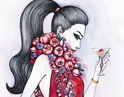 "Check out new work on my @Behance portfolio: ""Fashion-Illustration. Girls"" http://be.net/gallery/51491633/Fashion-Illustration-Girls"