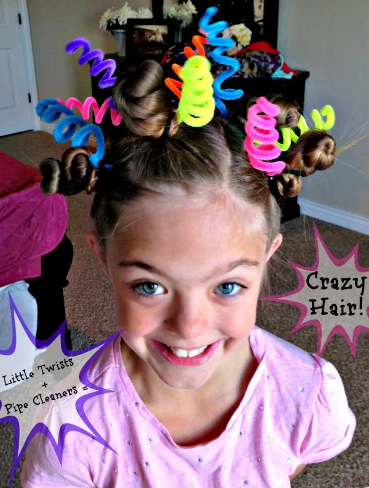 16 of The Most Eye-Popping 'Crazy Hair Day' Updos Ever