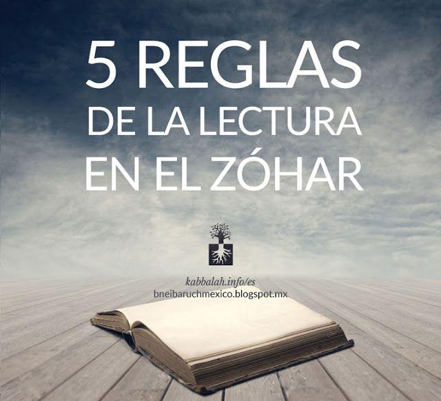 Cinco reglas de la lectura en el Zóhar | Cabalá Auténtica Bnei Baruch México…
