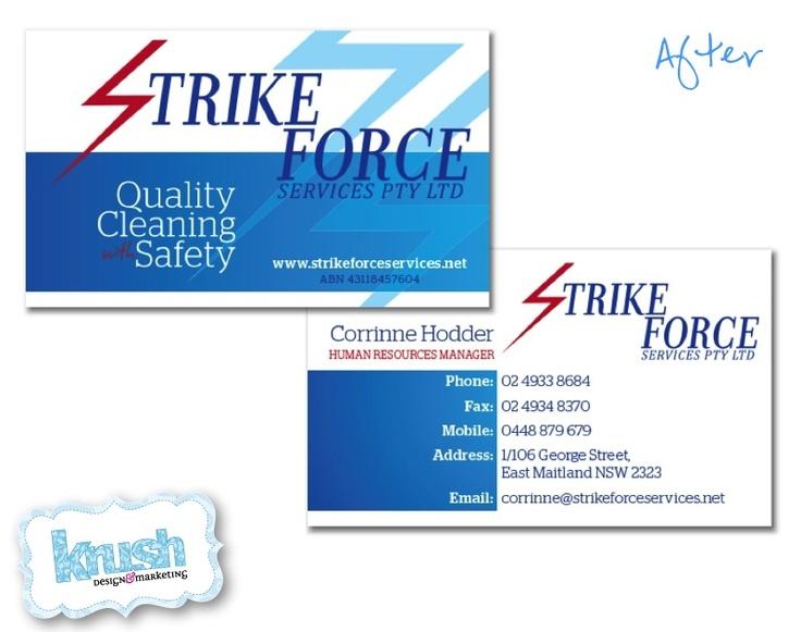 Strike Force Services Brand Revamp
