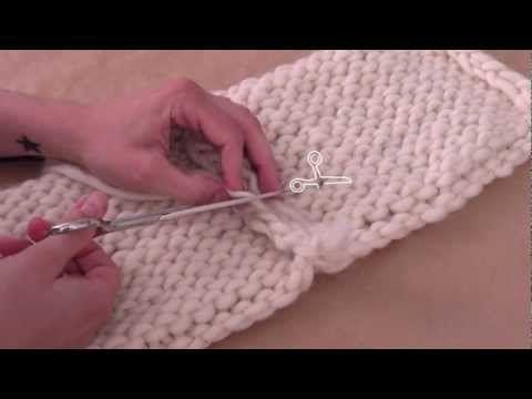 Tejer ¿Cómo unir la labor de lana? - WE ARE KNITTERS, UE, 2013