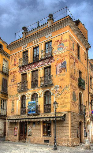 Beautiful Facede | #Cafe Lamarmora - Carbonia-Iglesias #Sardinia, #Italy