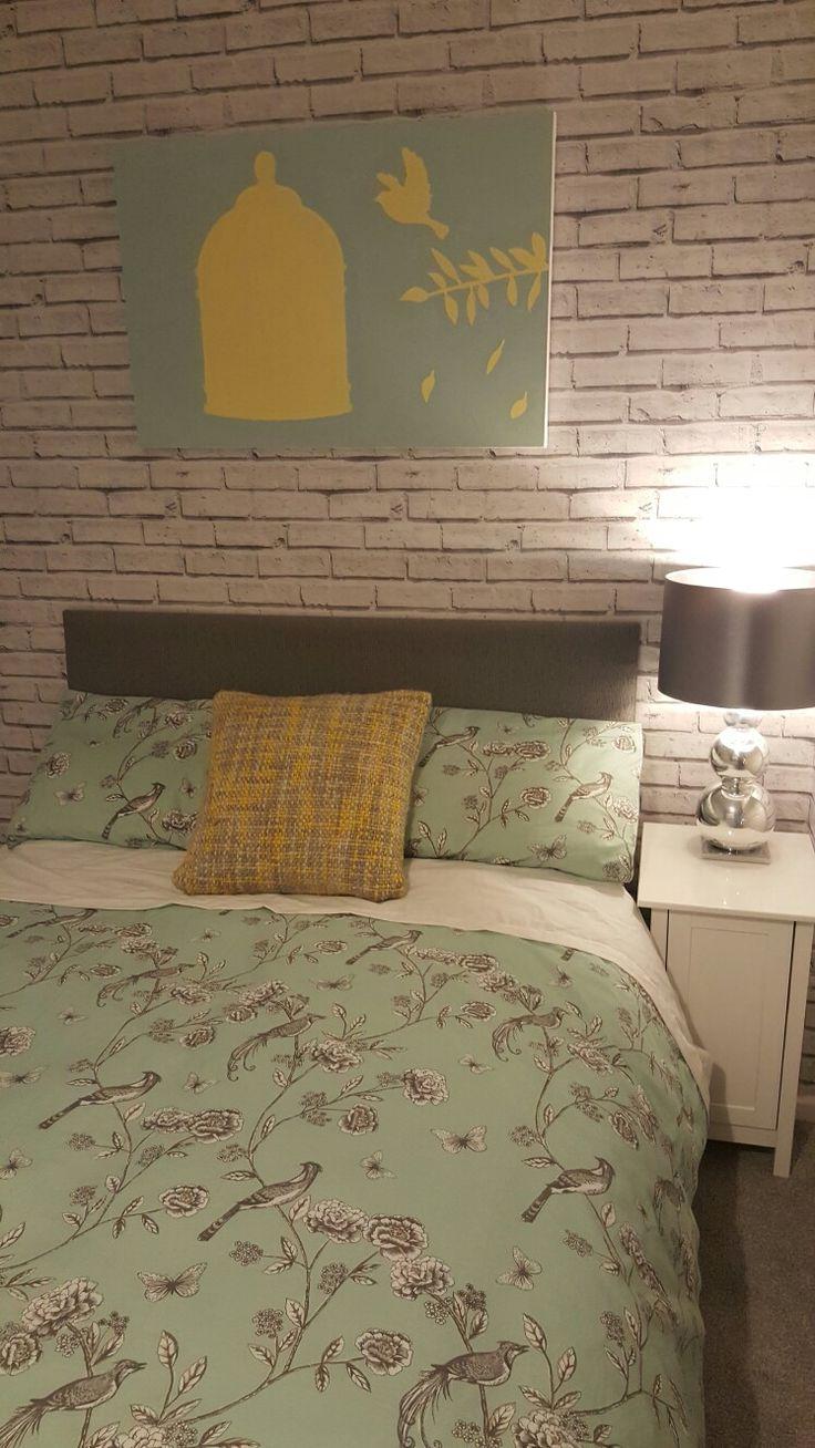 1000 ideas about brick wallpaper bedroom on pinterest white brick wallpaper brick wallpaper - Bedroom with brick wallpaper ...