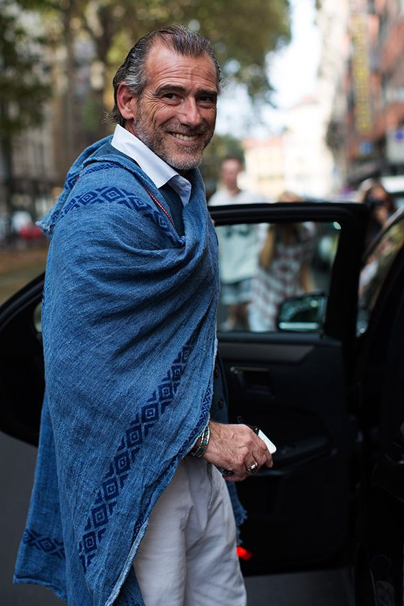 On the Street….Mr. Alessandro Squarzi, Milan. This gent has some serious style!