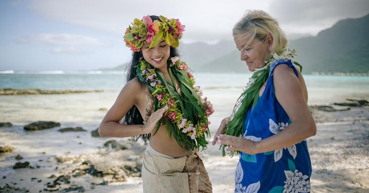 Elisabeth immersed herself in the islands' unique French Polynesian culture. #EmbracedByMana #LoveTahiti