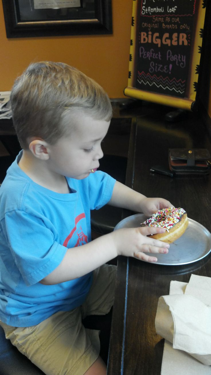 Have a donut at Joey Bag a Donuts.  All made on site and some of the best you will ever have.