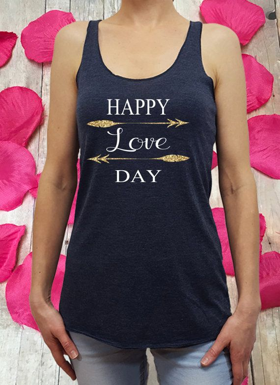Love Day Shirt, Valentine Shirt, Valentine Tank Top, Gift For Her, Womens