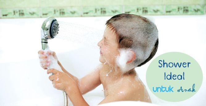Cara mandi ternyata sangat menentukan reaksi dan sikap anak-anak. Mandi di bawah shower mendapat 'penghargaan' sebagai cara mandi paling seru bagi balita. Tapi, tak sedikit dari mereka merasa kurang nyaman, bahkan terancam, dengan siraman air shower yang tiba-tiba, tanpa ia tahu seberapa banyak air mengenainya. Ada beberapa hal yang perlu Anda perhatikan agar balita Anda bisa menikmati kegiatan mandi dengan shower. Klik link di atas untuk info selengkapnya