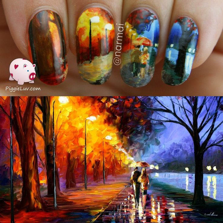 28 best Nail art inspired by art/paintings images on Pinterest ...