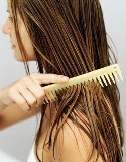 -use honey, because it will strengthen the hair roots   -use lemon, hair will become shiny and healthy  -use egg yolk for nourishing the skin and hair  /   mix 1 egg yolk, lemon juice and 3 tablespoons of honey / apply on the hair and rub it well into / let it sit for 30-40 minutes (the longer the better) and then wash it out with water