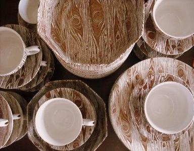 My Faux Bois Dinnerware & Best 60 Faux bois ideas on Pinterest   Backyard ideas Flower ...