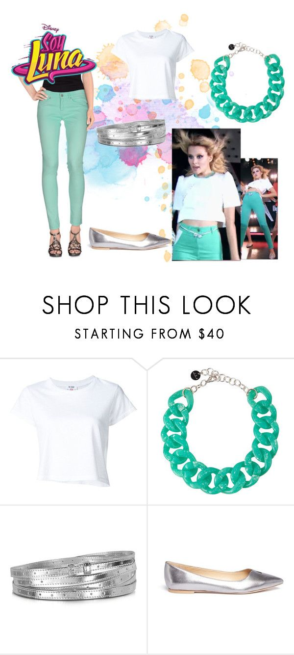 """""""soy luna"""" by maria-look on Polyvore featuring RE/DONE, Alisha.D, MM6 Maison Margiela, Sam Edelman and Pepe Jeans London"""