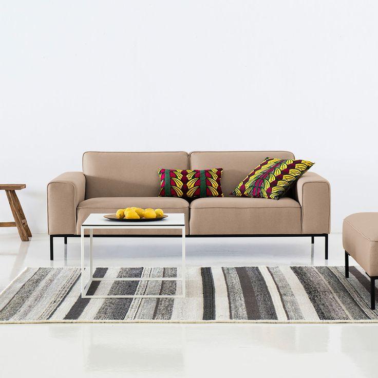 Sofa Ampio 3 Sitzer Webstoff Sofa Mit Relaxfunktion Sofa Sofa Design