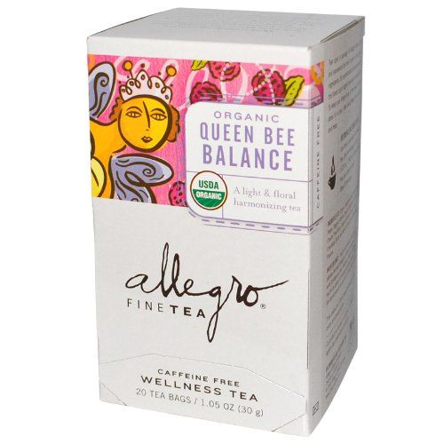 Allegro Queen Bee Balance, 20 Tea Bags *** Want to know more