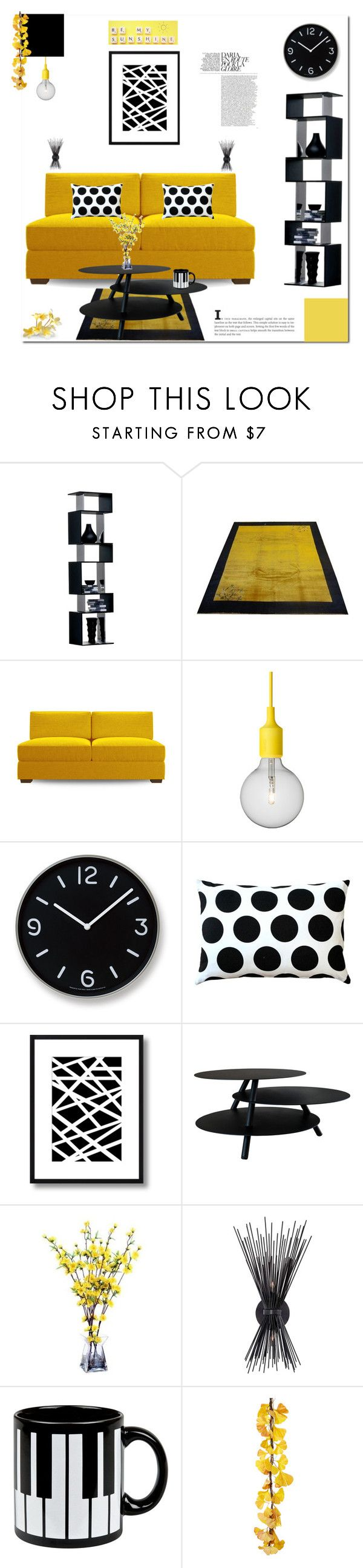 """""""Home (8/25/2015)"""" by aneetaalex on Polyvore featuring interior, interiors, interior design, home, home decor, interior decorating, Joybird Furniture, Muuto, Lemnos and Pillow Decor"""