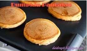 pumpkin, protein pancakes, pumpkin pancakes, healthy breakfast, weight loss, clean eating, raw honey, vanilla shakeology, T25 meal plan, Deidra Penrose, nutrition, health tips