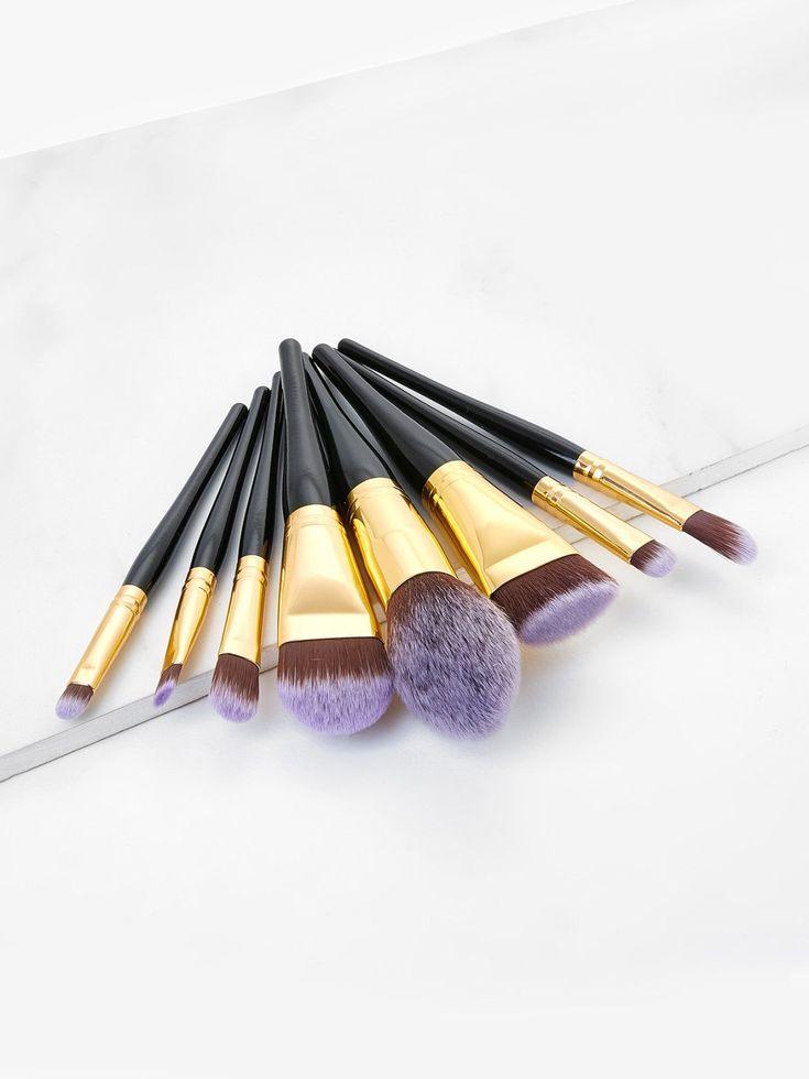 Professional 8pcs Faux Crystal Zircon Fiber Hair Makeup: Best 25+ Makeup Brush Set Ideas On Pinterest