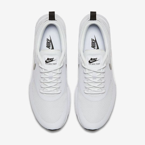 new product b5649 2b3fd Chaussure Nike Air Max Thea Pas Cher Femme et Homme Blanc Noir