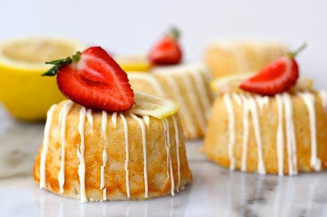 Mini Lemon Ricotta Cakes |