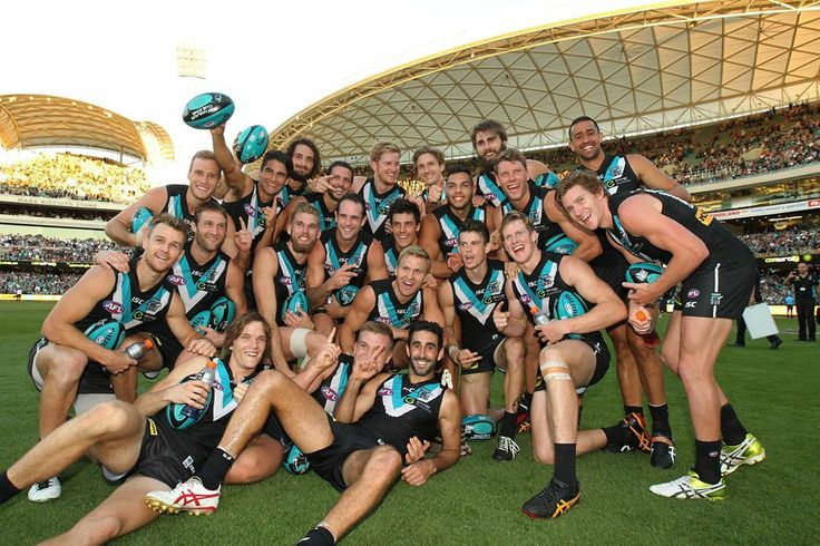 1st win in the first game at the new Adelaide Oval