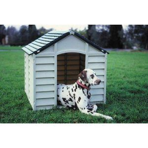 Large Strong Durable Plastic Dog Cats Pets Kennel / Winter