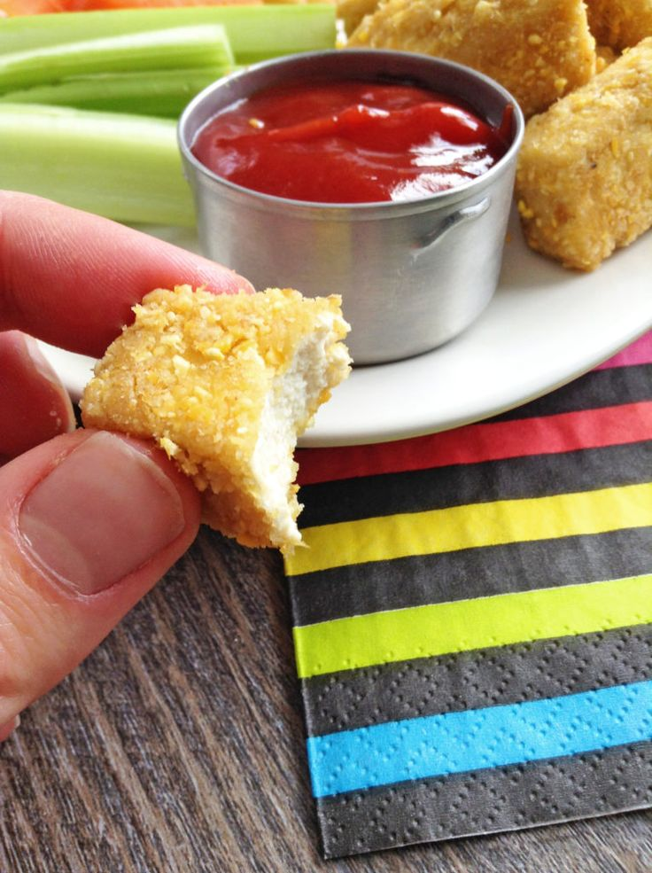 Crispy Baked Tofu Nuggets | Healthy Ideas for Kids