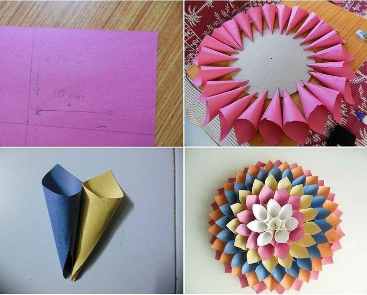 25+ ide terbaik Kerajinan kertas di Pinterest