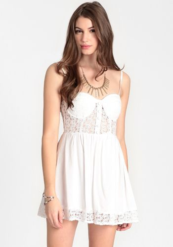 Innocence Lost Bustier Dress By Reverse #threadsence #fashion
