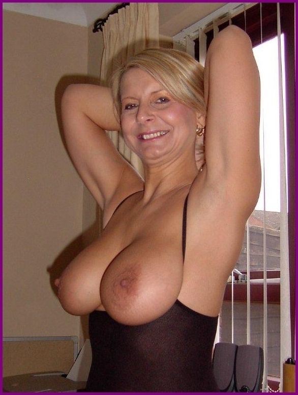 Nice Mature Boobs