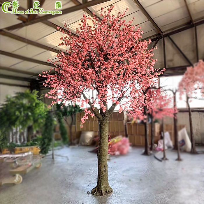 4m Tall Artificial Cherry Blossom Tree Fake Flower Wedding Decoration Pink China Hac Artificial Cherry Blossom Tree Fake Flowers Wedding Flower Decorations