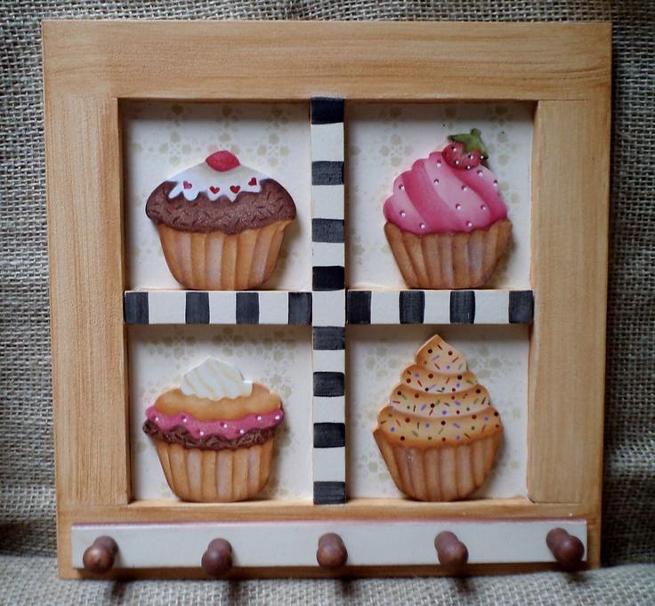 Porta Chaves  Cupcakes