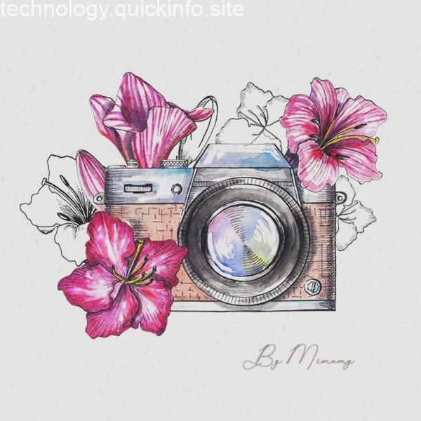 Camerazeichnung Kunst Skizzen Kunstzeichnungen Zeichnungen Pinterest