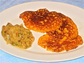 From Arepas to Zwetschgen: Africa: Plantain Bell Pepper Pancakes with ...