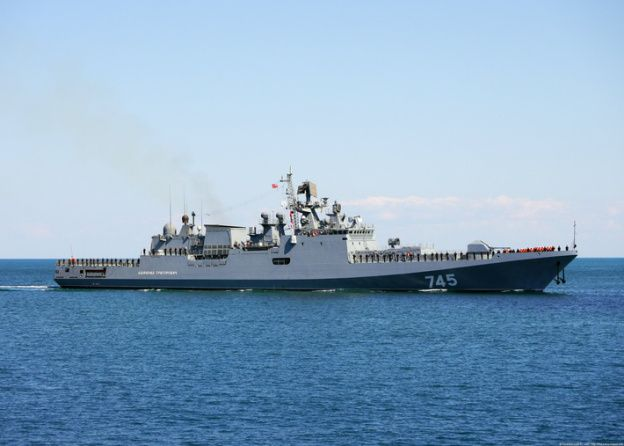Russian Black Sea Fleet's frigate The Admiral Grigorovich ordered to Syria | Thai Military and Asian Region