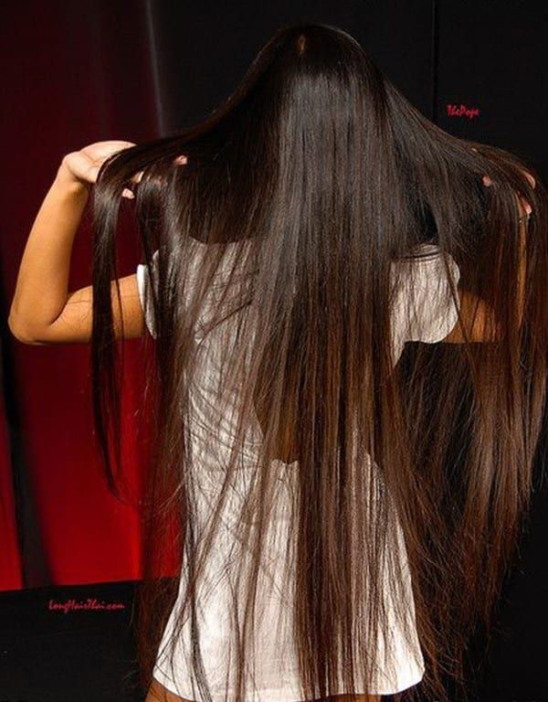 Haaren den frau mit längsten Die längsten