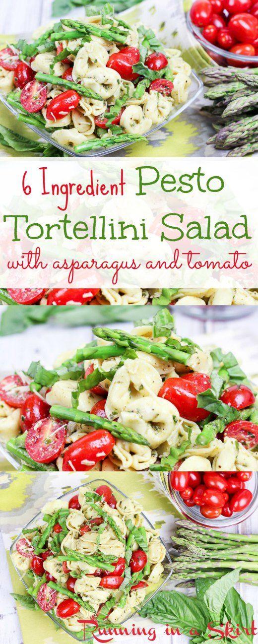 Salade De Tortellini Au Pesto sur Pinterest | Tortellini Au Pesto ...
