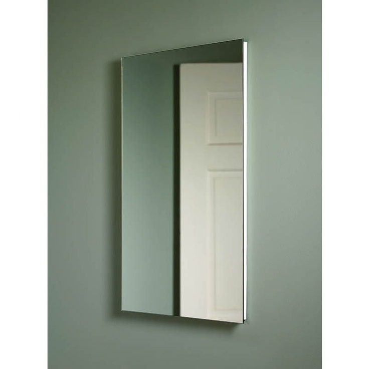 broan nutone cove frameless medicine cabinet single door recessed mount by
