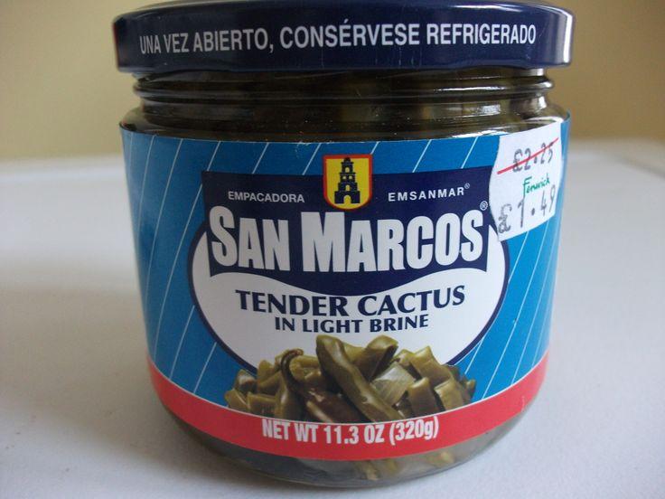 Tender Cactus in brine