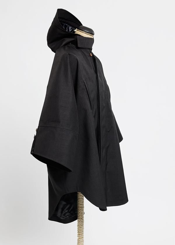 Raincho Unisex by Norwegian Rain / mixed black (via Selectism)