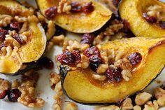 Roasted Acorn Squash Recipe from www.inspiredtaste.net #squash #fall #recipe