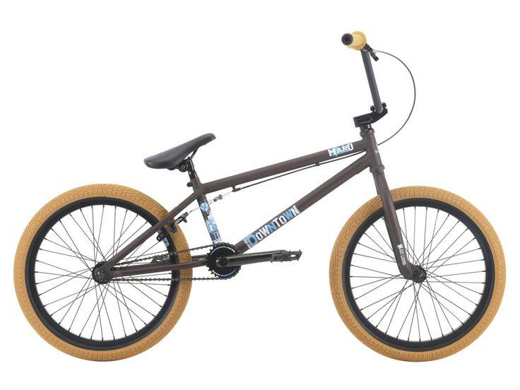 "Haro Bikes ""Downtown"" 2018 BMX Bike - Matte Rootbeer | kunstform BMX Shop & Mailorder - worldwide shipping"