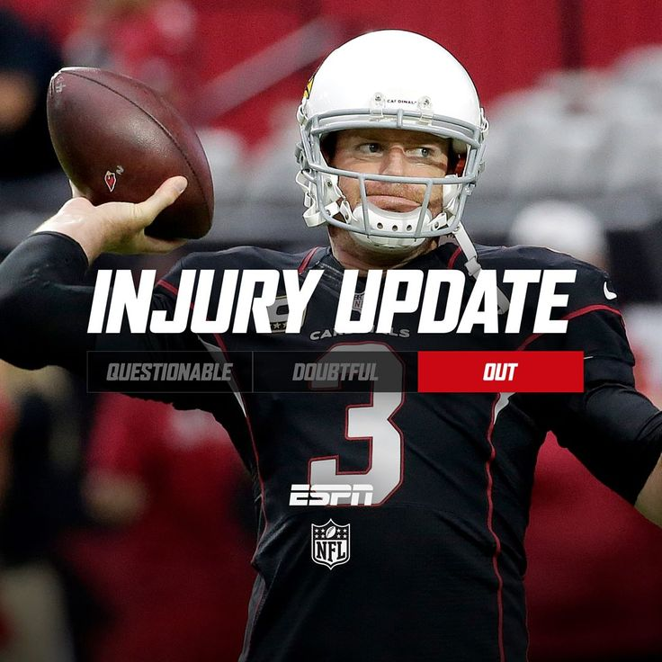 Fantasy Football Update: Carson Palmer Is Out Week 5