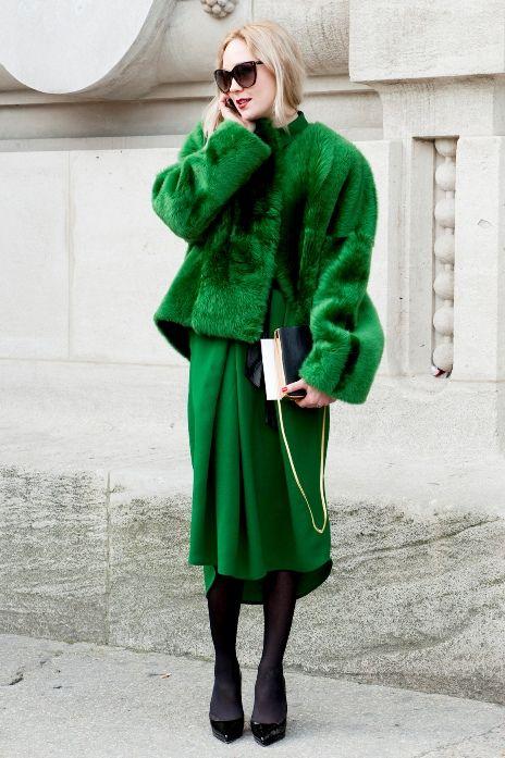 Green on green #streetstylebijoux, #streetsyle, #bijoux