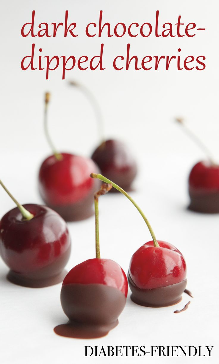 Dark Chocolate Dipped Cherries Martha Stewart Living