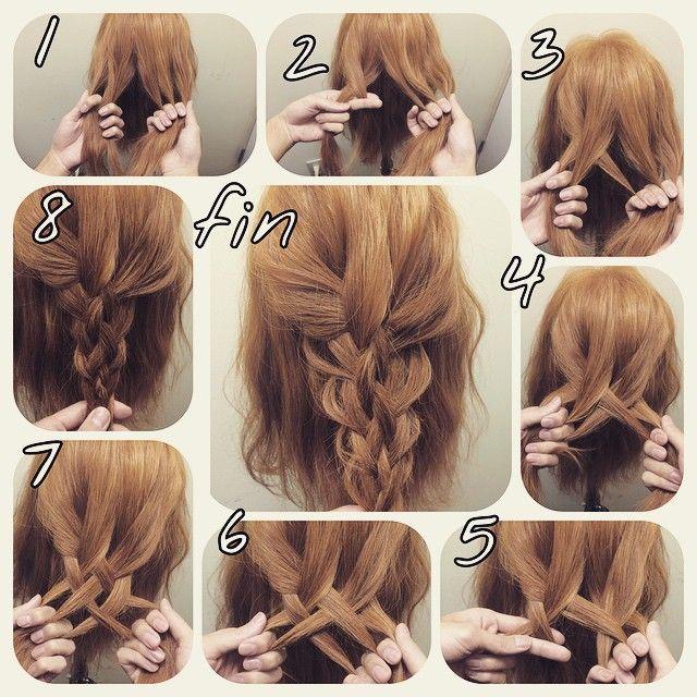 5つ編み! 1、初めに5つに分けます 2、四つ編みの要領で外側の毛を、一つ内に入れる 3.右手の一番左をその上にかぶせる 4.一番右の毛を右から次の毛の上を通り 3でもらった毛の下を通って左に渡す 5.6.7とまたほぼ2と同じ工程で進んでいく 意外と単純ですが指をうまく使わないと わけわからなくなってきます 指の隙間を恥から使うことがポイントです! 8番完成!このままめんを出すスタイルに表かぶせて和装でも、大人パーティースタイルもいけます! 最後にほぐすと普通の編み込みにわない 厚みと幅があるので可愛いです! 動画もあるので参考になれば嬉しいです #nico...#ニコ#hair#hairset#hairarrange#ヘアセット#ヘアアレンジ#結婚式ヘア#撮影#ヘアメイク#オシャレ#編み込み#マニキュア#グラデーション#グラデーションカラー#モデル#ヘアスタイル#ヘアカラー#波巻き#ファッション#髪型#love#instagood#cute#編み込みやり方#アレンジやり方#アレンジ解説#ヘアアレンジ解説