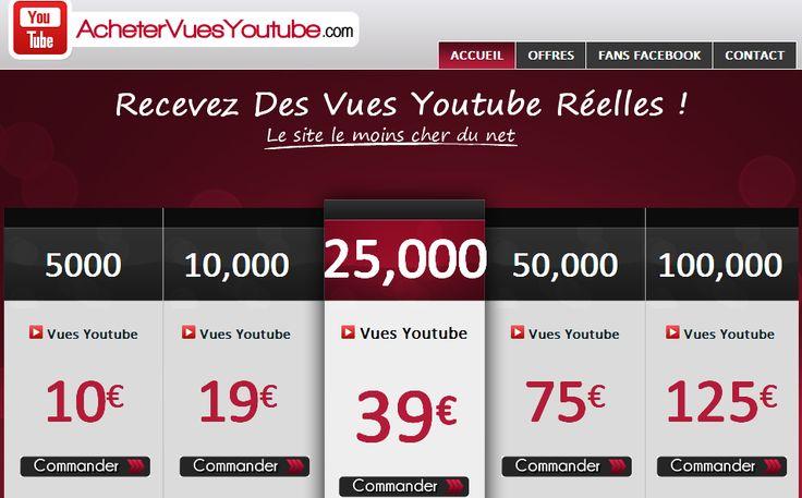 acheter vues youtube >> acheter des vues youtube --> http://achetervuesyoutube.com/